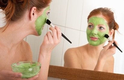 Banana and Avocado Mask